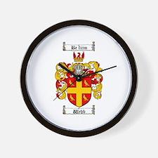 Webb Coat of Arms Wall Clock