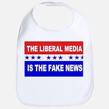 Liberal Fake News Bib