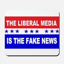 Liberal Fake News Mousepad