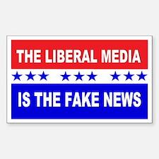 Liberal Fake News Decal