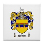 Weaver Coat of Arms Tile Coaster
