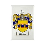 Weaver Coat of Arms Rectangle Magnet (100 pack)
