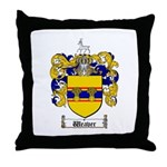 Weaver Coat of Arms Throw Pillow