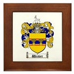 Weaver Coat of Arms Framed Tile
