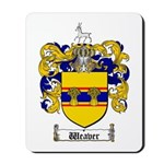 Weaver Coat of Arms Mousepad