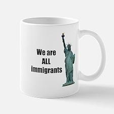 Americans All Immigrants Mugs