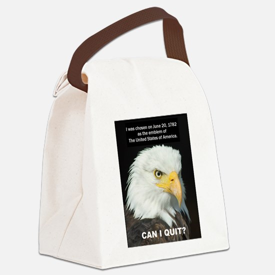 American Eagle wants to Quit Canvas Lunch Bag