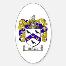 Watson Coat of Arms Oval Decal