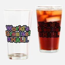 Worlds Greatest Khalil Drinking Glass