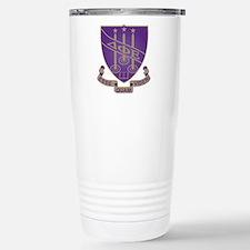 Delta Phi Epsilon Crest Stainless Steel Travel Mug