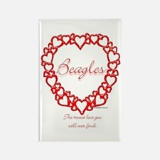 Beagle True Rectangle Magnet (10 pack)