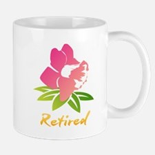 Retired Flower Mugs