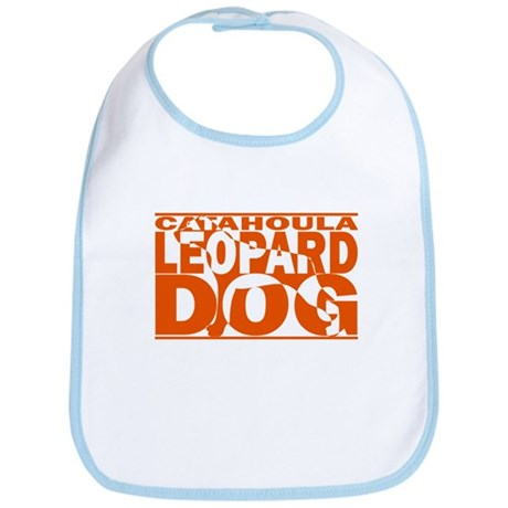 Hidden Catahoula Leopard Dog Bib