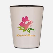 Unique Retired nurse Shot Glass