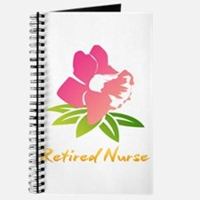 Retired Nurse Flower Journal