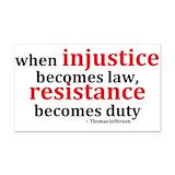 """Injustice 3"""" x 5"""""""