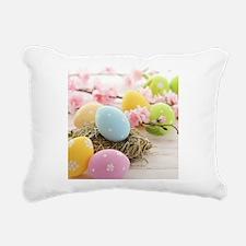 Easter Eggs Rectangular Canvas Pillow