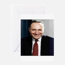 United States Senator Chuck Schumer Greeting Cards
