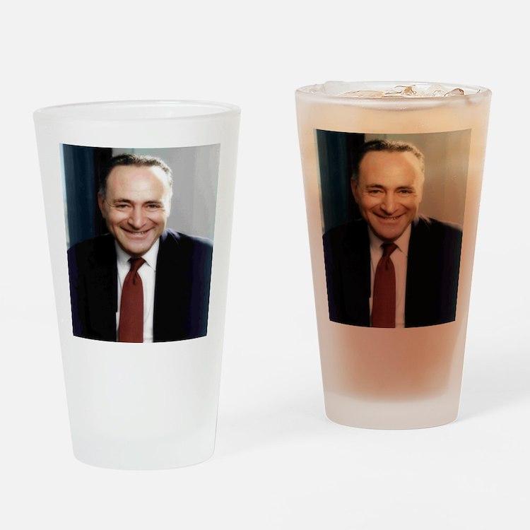 United States Senator Chuck Schumer Drinking Glass
