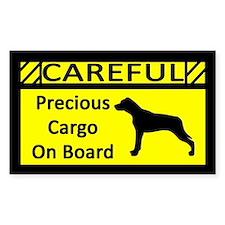 Precious Cargo Catahoula Leopard Dog Decal