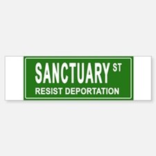 Sanctuary St. Bumper Car Car Sticker