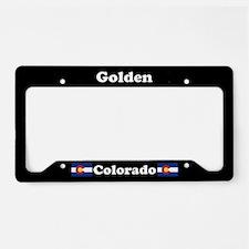 Golden, CO License Plate Holder