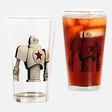 Unique Russian propaganda Drinking Glass