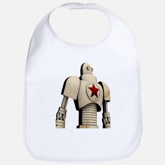 Robot soviet space propaganda Baby Bib