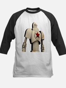 Robot soviet space propaganda Baseball Jersey