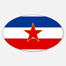 Socialist Federal Republic of Yugoslavia F Decal