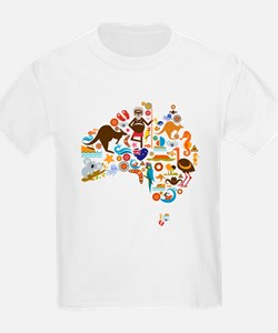 Little pieces of Australia T-Shirt
