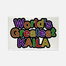 World's Greatest Kaila Rectangle Magnet