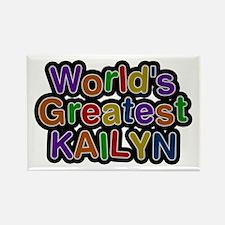 World's Greatest Kailyn Rectangle Magnet