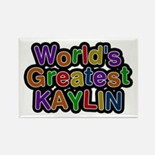 World's Greatest Kaylin Rectangle Magnet