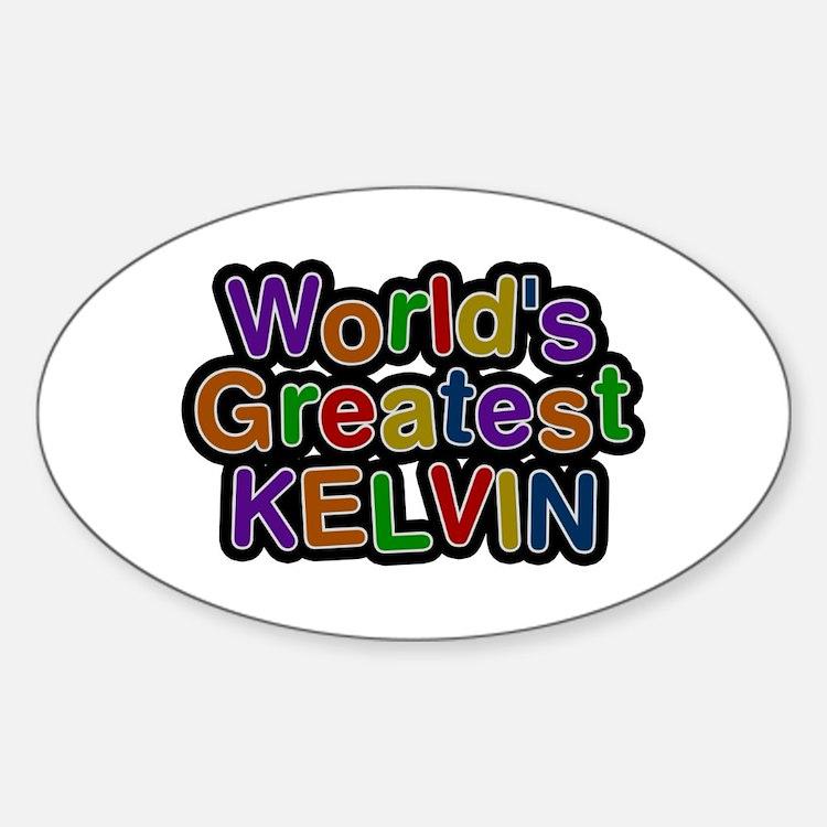 World's Greatest Kelvin Oval Decal