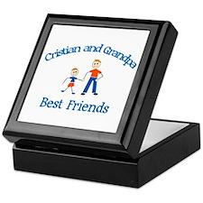 Cristian & Grandpa - Best Fri Keepsake Box