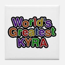 World's Greatest Kyra Tile Coaster