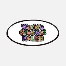 World's Greatest Kaleb Patch