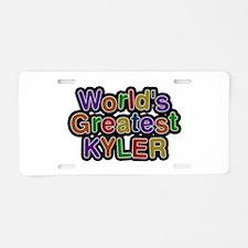 World's Greatest Kyler Aluminum License Plate