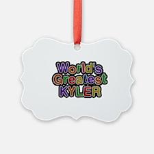 World's Greatest Kyler Ornament