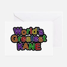World's Greatest Kane Greeting Card
