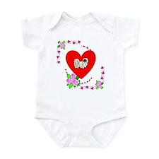 Pekingese Love Infant Bodysuit