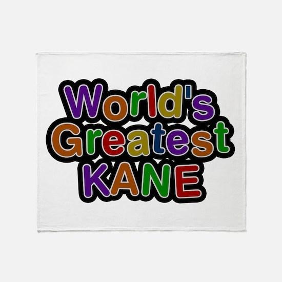 World's Greatest Kane Throw Blanket