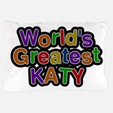 World's Greatest Katy Pillow Case