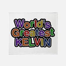 World's Greatest Kelvin Throw Blanket
