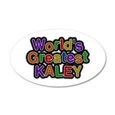 World's Greatest Kaley Wall Decal