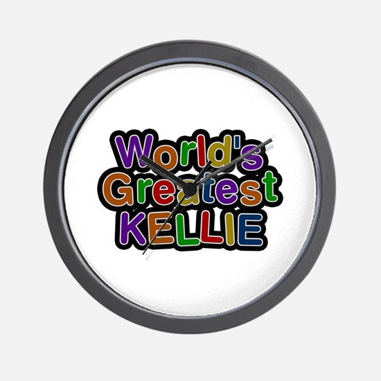 World's Greatest Kellie Wall Clock