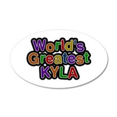 World's Greatest Kyla Wall Decal
