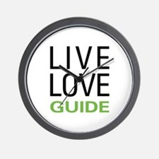 Live Love Guide Wall Clock