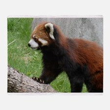 """March Of The Red Panda"" Throw Blanket"